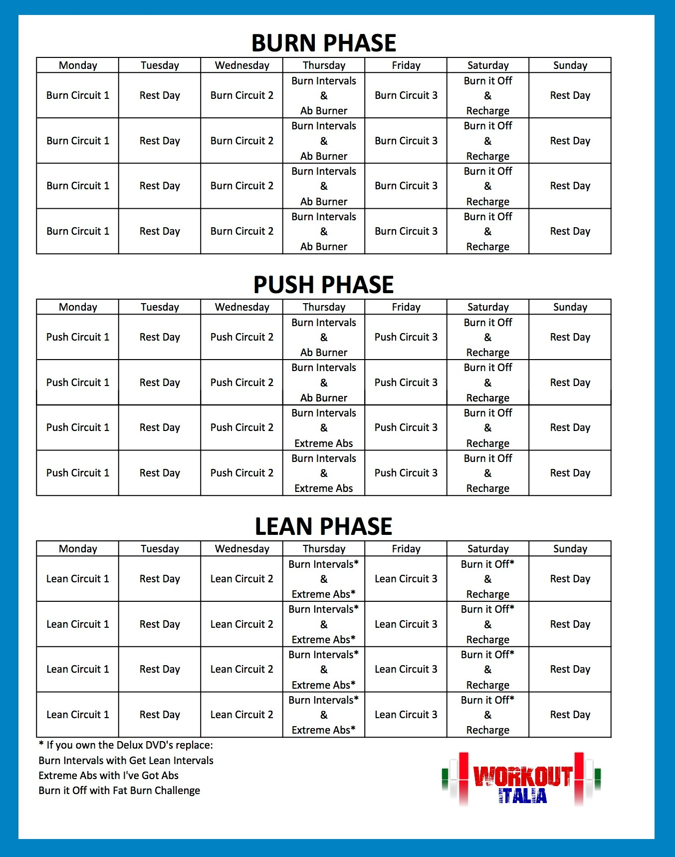 Jillian Michaels Body Revolution Schedule Pdf Pump-workout-calendar2    Jillian Michaels Body Revolution Workout Schedule Printable