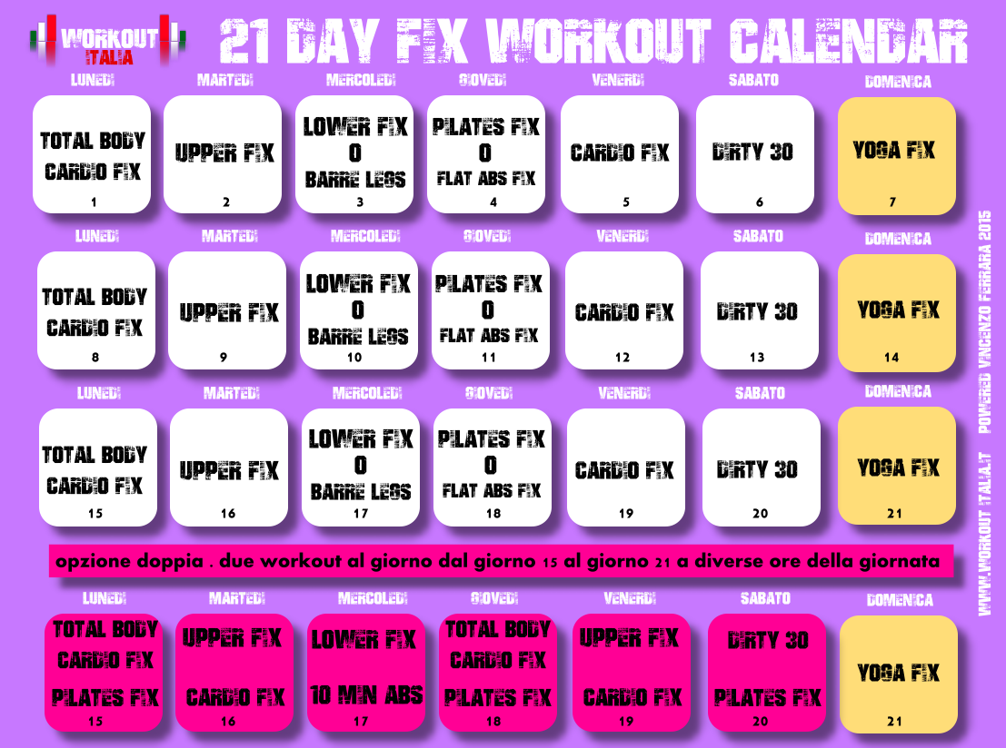 Calendario De 21 Day Fix Extreme.Beachbody Coupon 21 Day Fix Staples Copy And Print Coupon