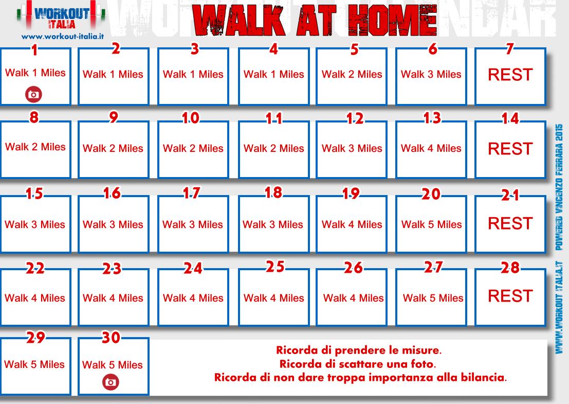 walk at home schema