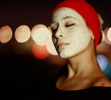 maschera viso defaticante