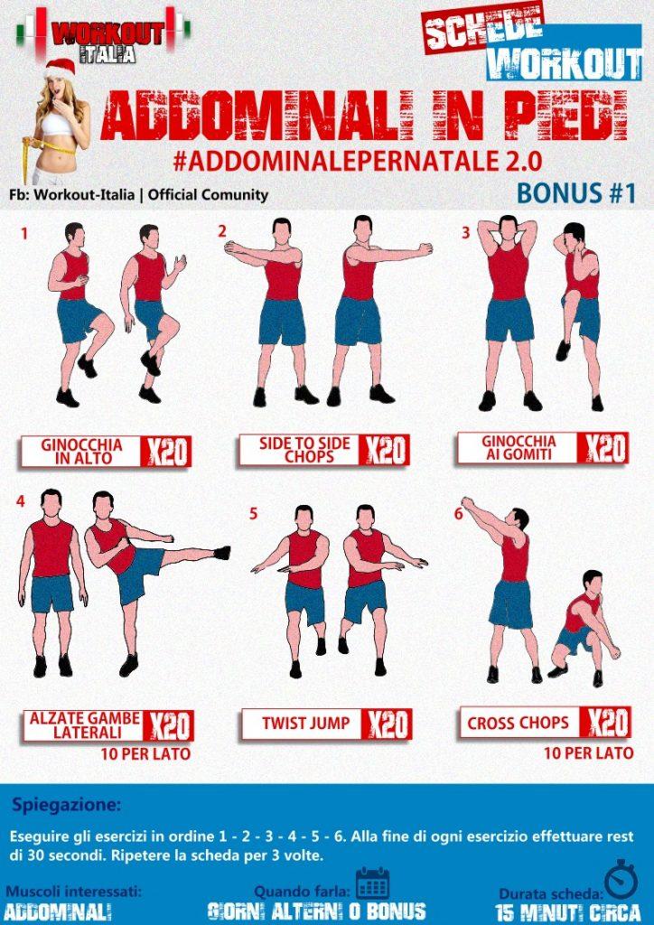 Molto Schede Workout - Schede di allenamento specifiche da scaricare JG02