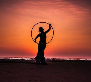 hula hoop allenamento workout