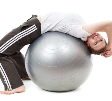 fitball workout scheda