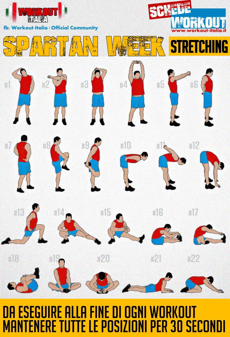 Bien-aimé Spartan week: una settimana per dimagrire e tonificare - Workout  IN48