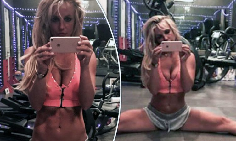 britney spears workout