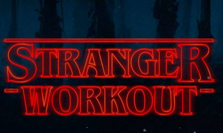 stranger workout challenge