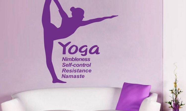 arredare casa yoga workout