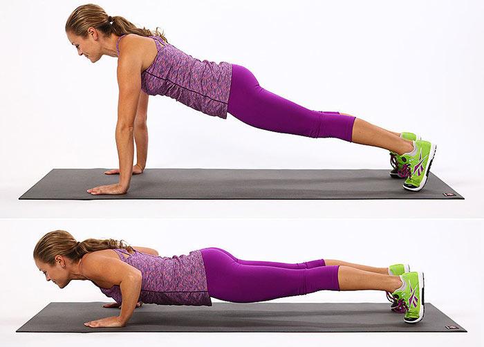 esercizi per rinforzare la schiena piegamenti