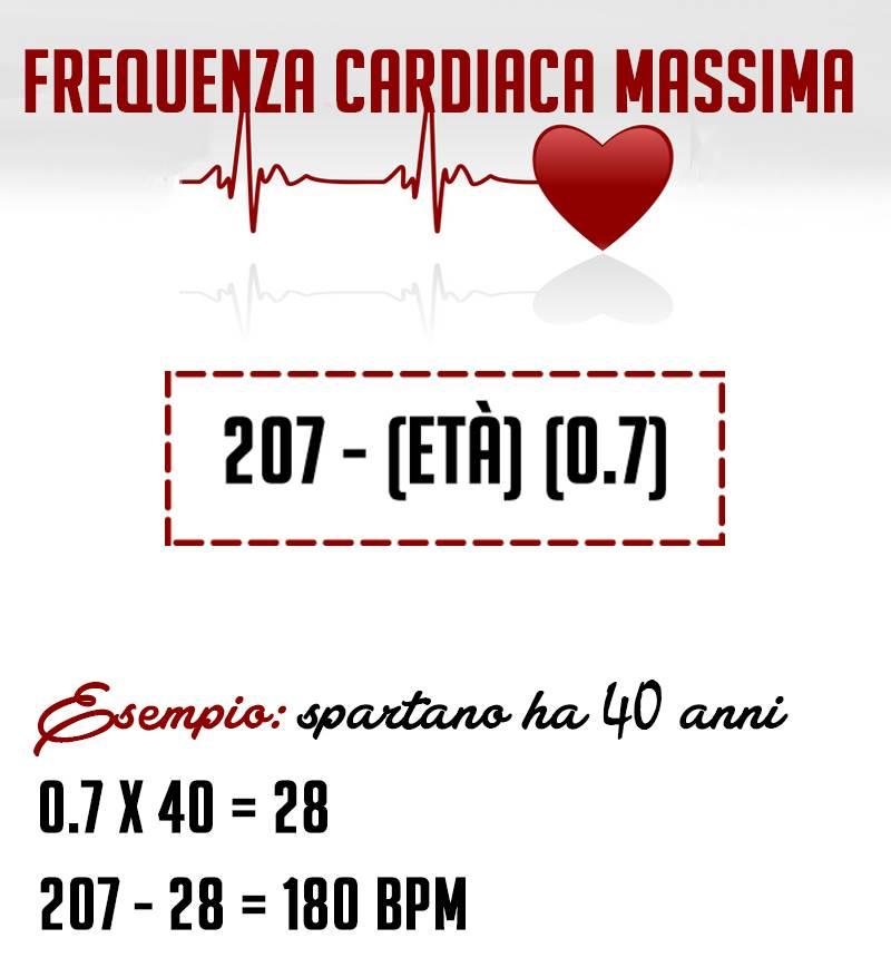 frequenza cardiaca allenante