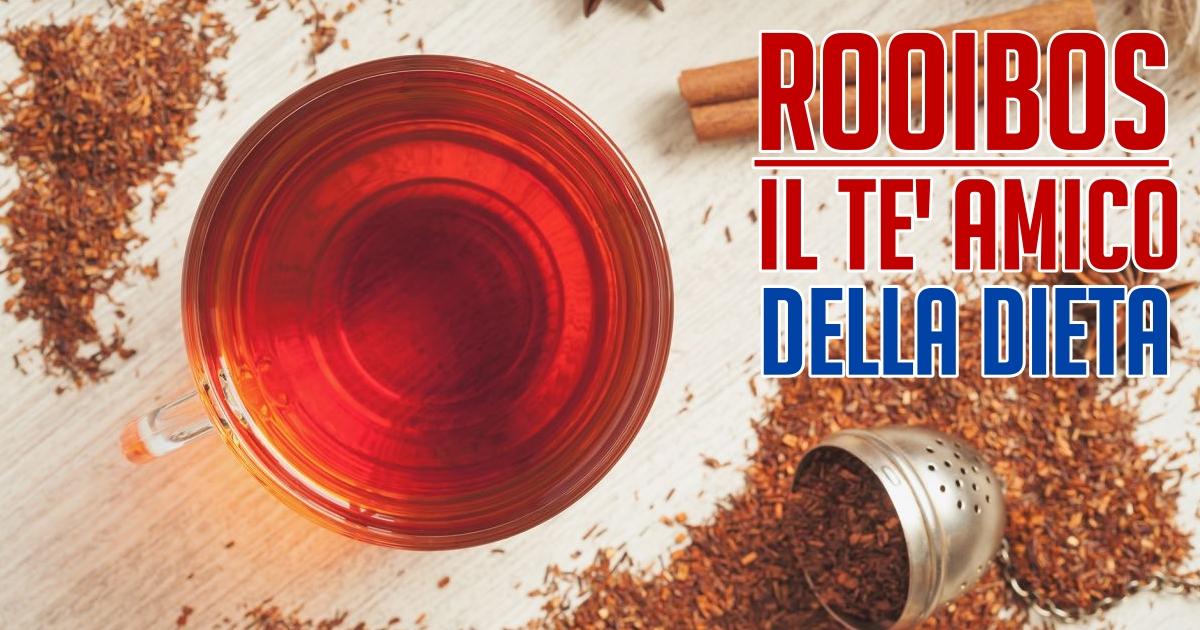 tè rosso per perdere benefici in termini di peso