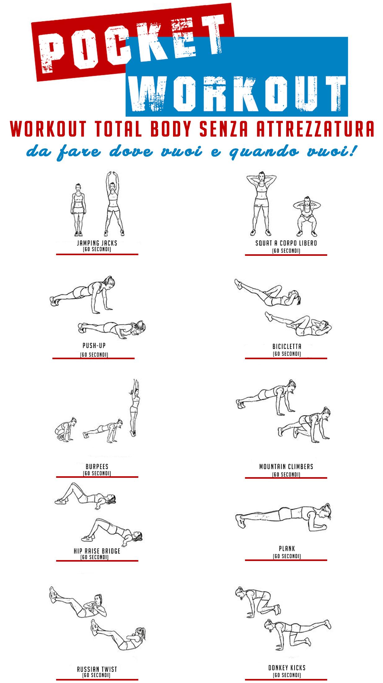 pocket workout