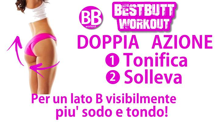 BB workout esercizi per glutei
