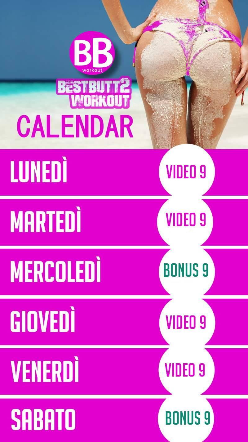Calendario settiman 9