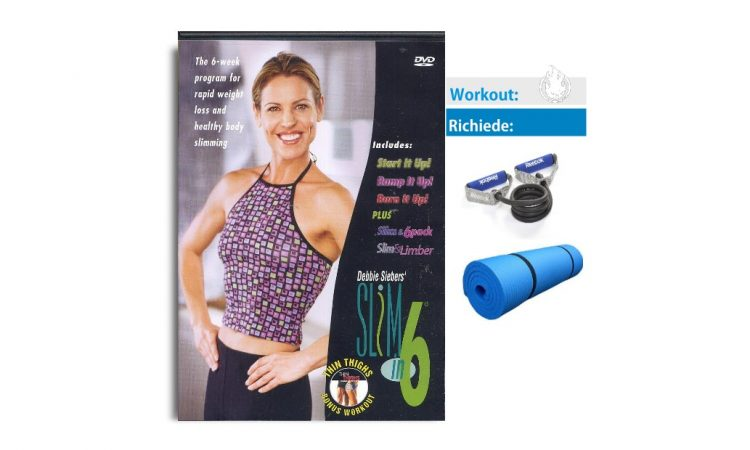 workout slim in 6 debbie