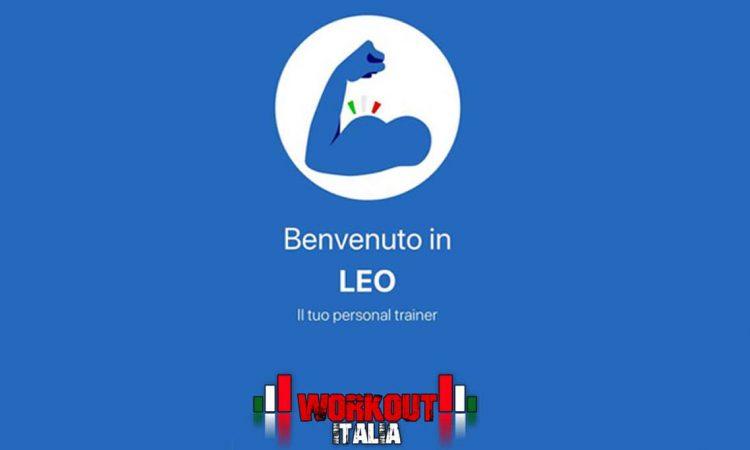 Leo your personal trainer l'app per allenarti