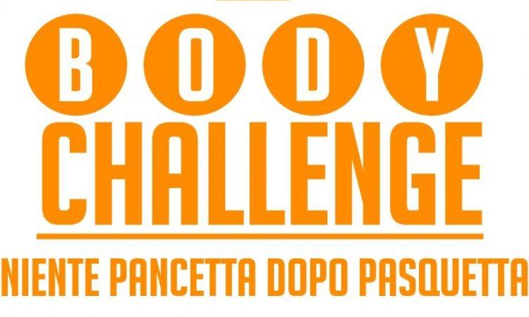 body challenge niente pancetta dopo pasquetta