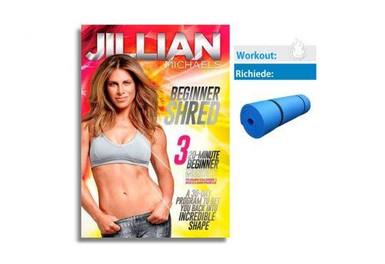 beginner shred workout cover