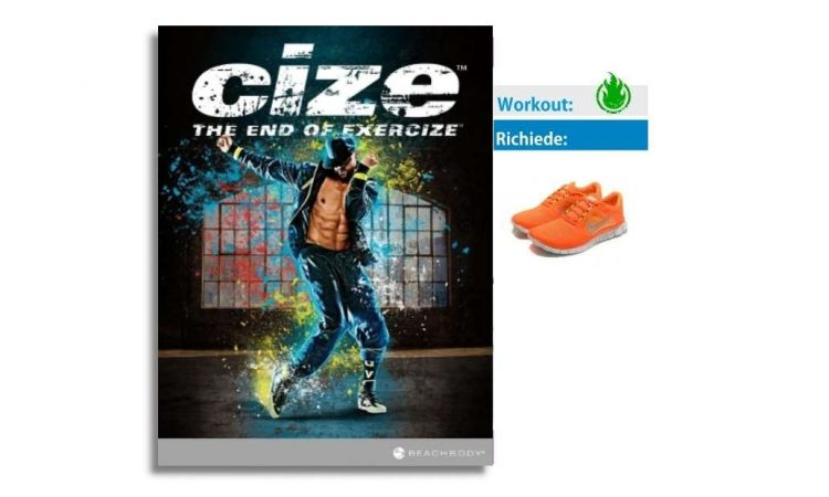 cize workout cover shaun t