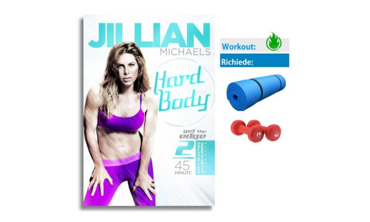 hard body jillian michael workout