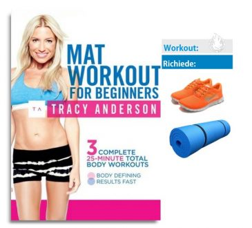 mat workout for beginners cover tracy anderson