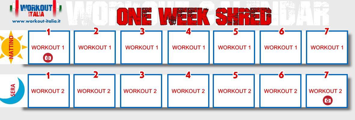 one-week-shred-workout-calendar