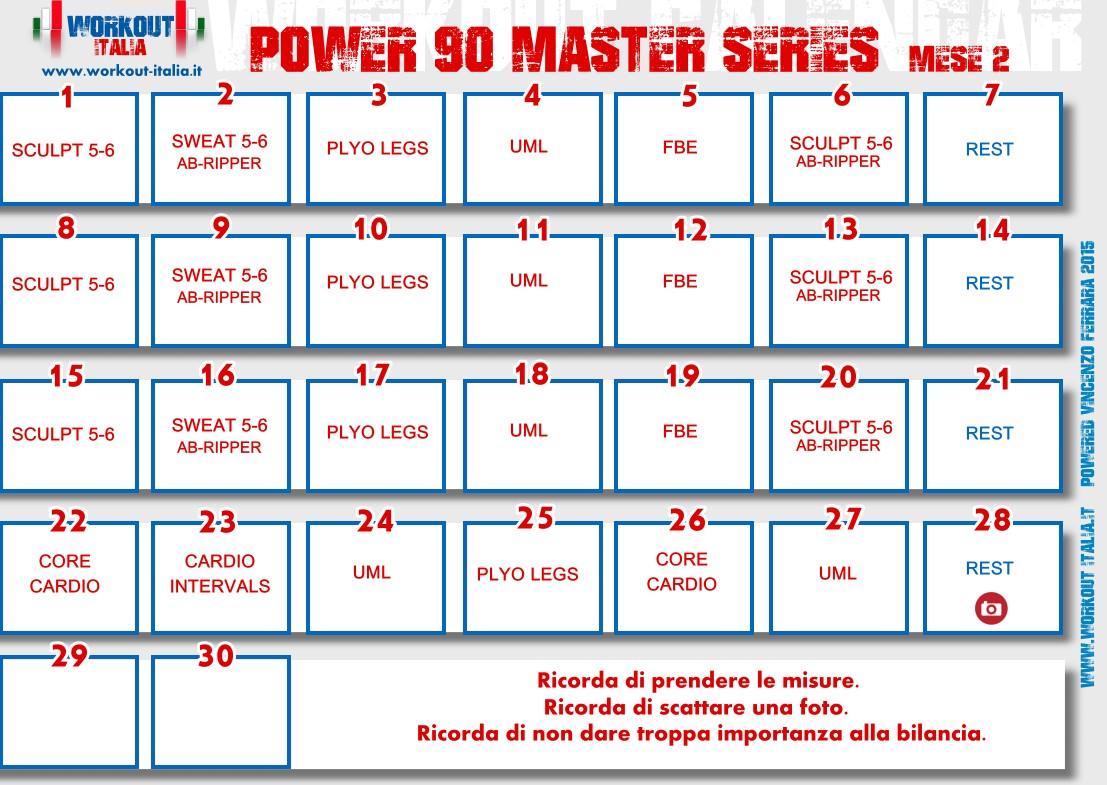 POWER 90 MASTER SERIES WORKOUT, di Tony Horton