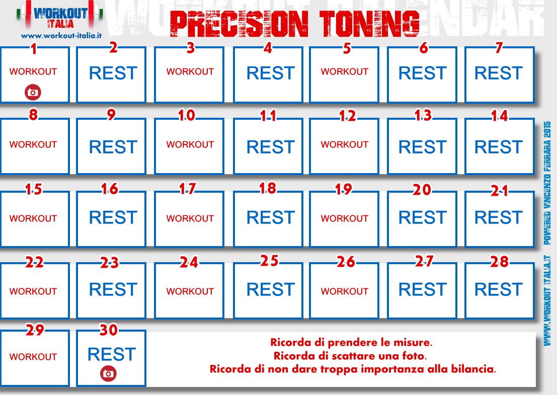 precision-toning-workout-calendar
