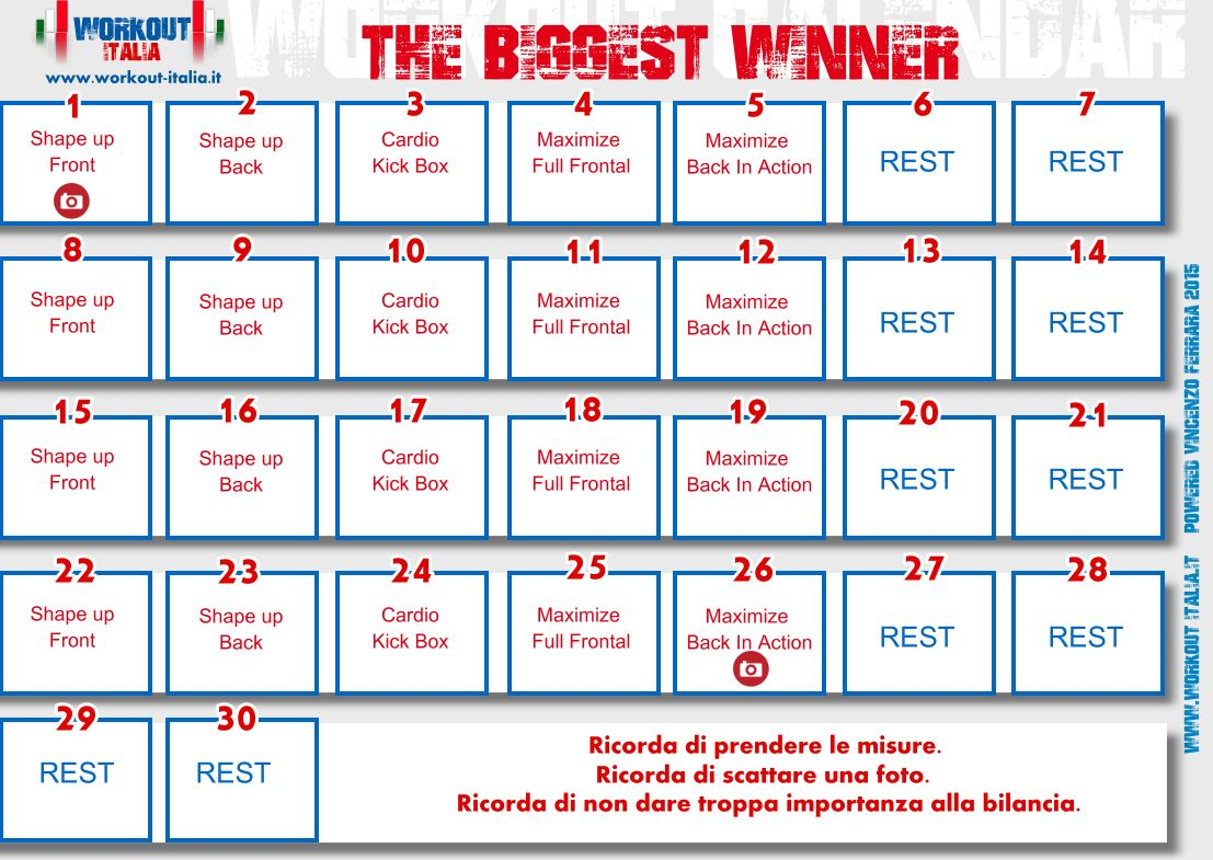 the-biggest-winner-workout-calendar