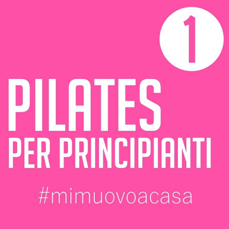 Pilates, video allenamento 1