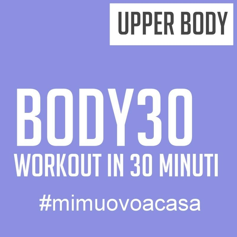 upper body body 30