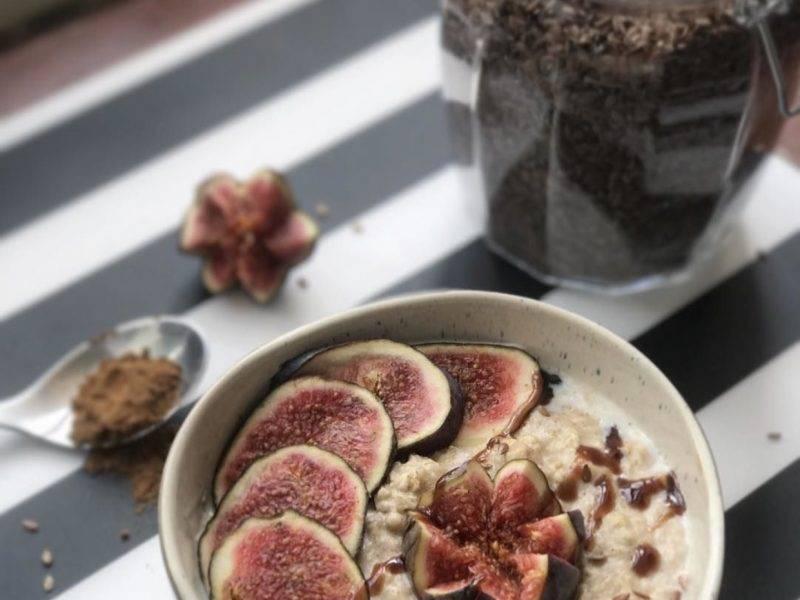 colazione fitness porridge d'avena