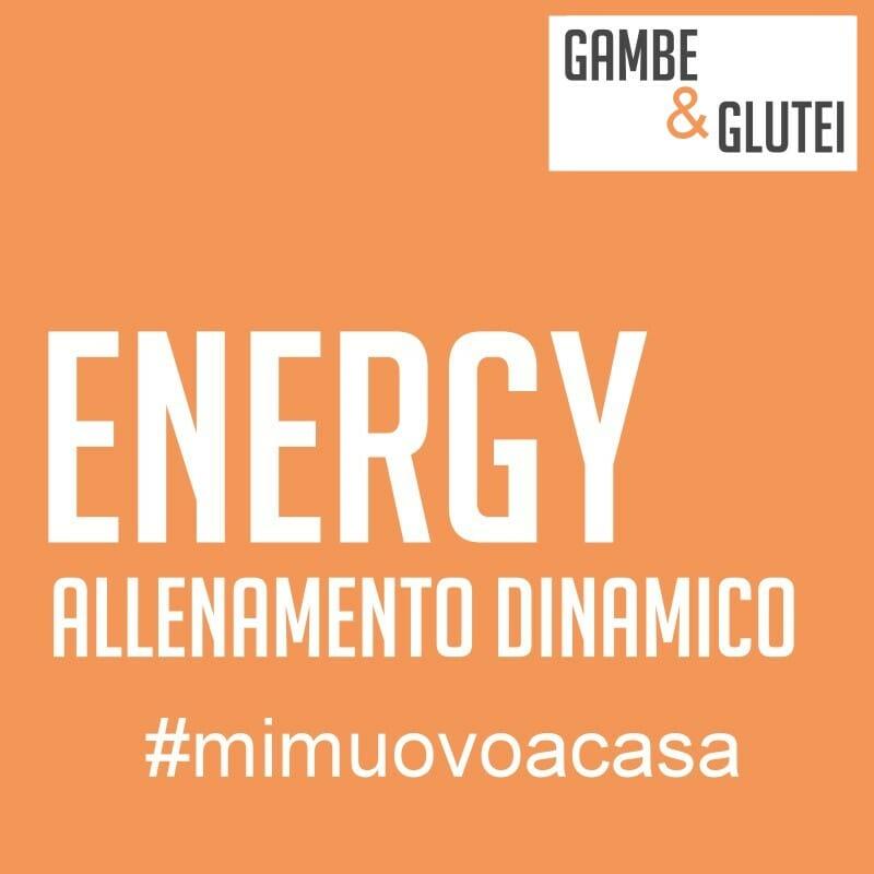 energy: allenamento gambe e glutei