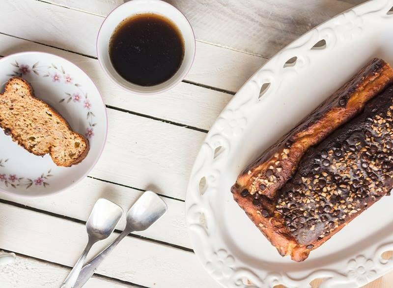 colazione fitness il banana bread